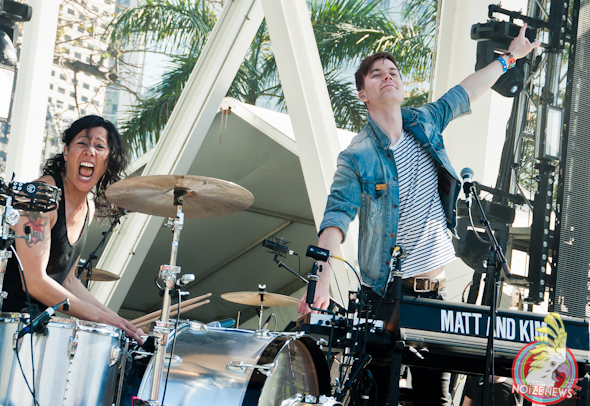 Matt and Kim @ Miami Ultra Fest 2013