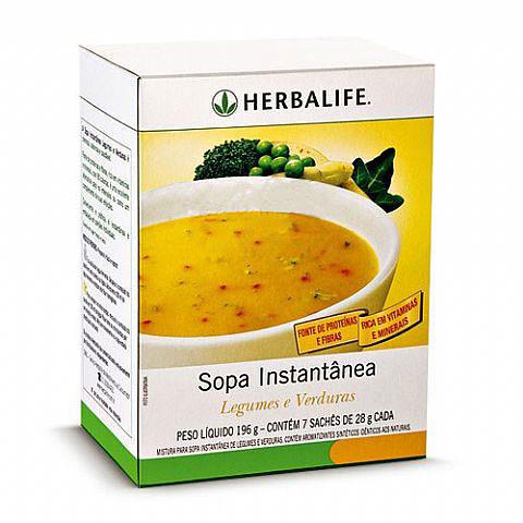 Sopa Herbalife Legumes e Verduras