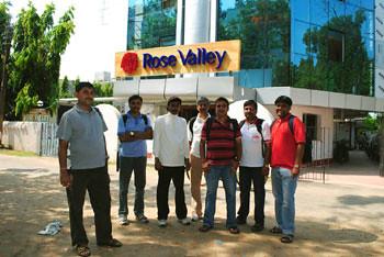 Joy, Subhasish, Biswajit, Apurba, Subherjit, Ashish & Subhadip