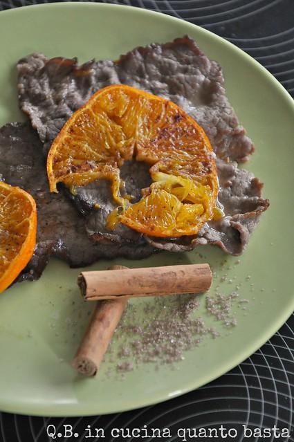 carpaccio arance
