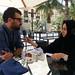 Ahmet Ogut being interviewed for Falgoosh Eavesdropper Radio