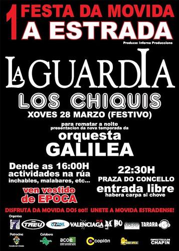 A Estrada 2013 - I Festa da Movida - cartel