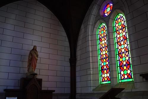 明治村の教会の中