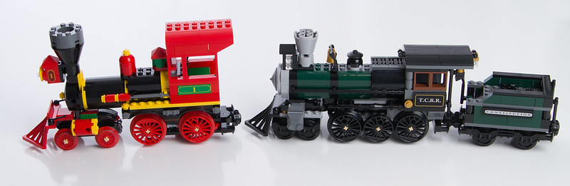 Review 79111 Constitution Train Chase Lego Licensed Eurobricks