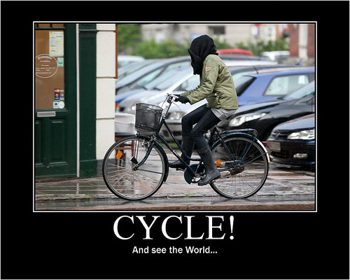 Cycle! And see the World! - Copenhagen Bikehaven by Mellbin