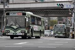 白梅町 立命館大学前-Ritsumeikan Univ. 【快速-Rapid 202】×2