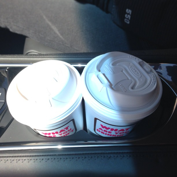 (2) @dunkindonuts Medium coffees don't fit in a Cadillac ATS. http://disclosur.es/9ROsJA