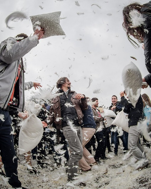 Pillow Fight Day, Zürich