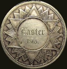 Silver Easter medal 1