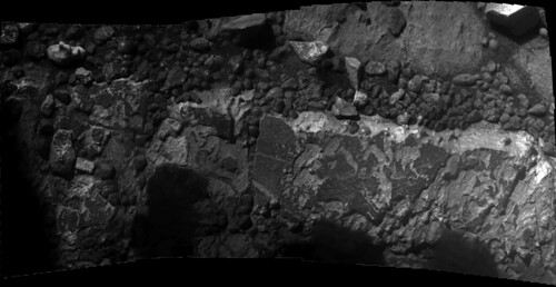 Opportunity sol 3262 - 3264 - 3267 Microscopic Imager mosaic