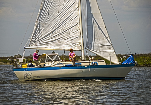 A Day Sail With Friends on The S/V Joy