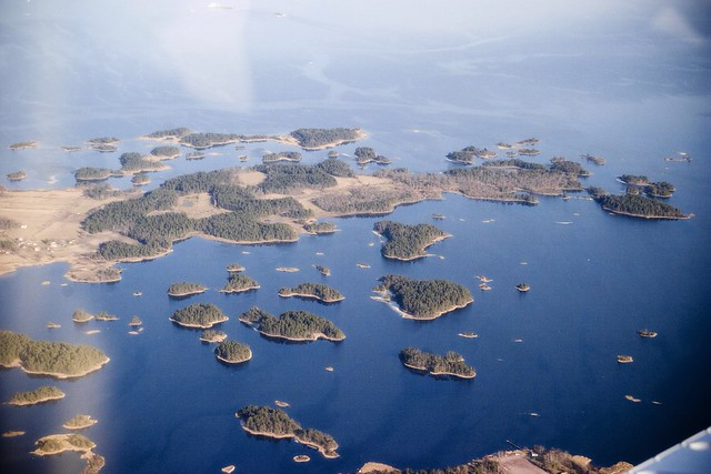 Archipelago definition/meaning Oasis Geography