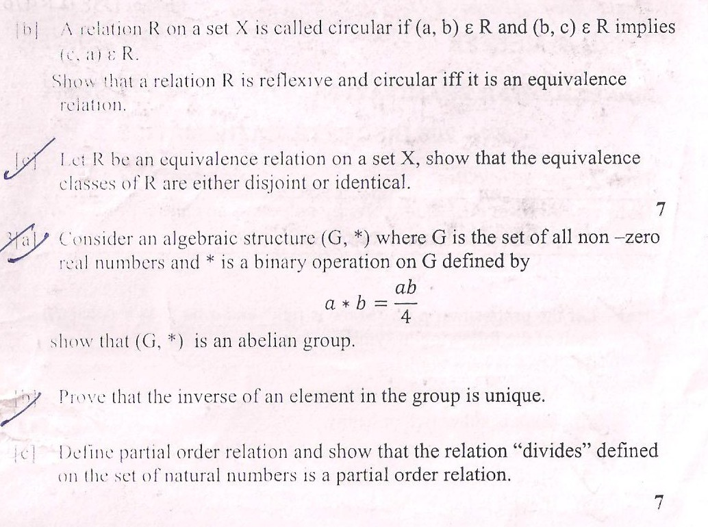 DTU Question Papers 2010 – 3 Semester - Mid Sem - SW-206