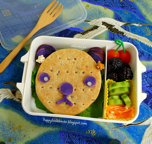 Bearwich Bento by sherimiya ♥