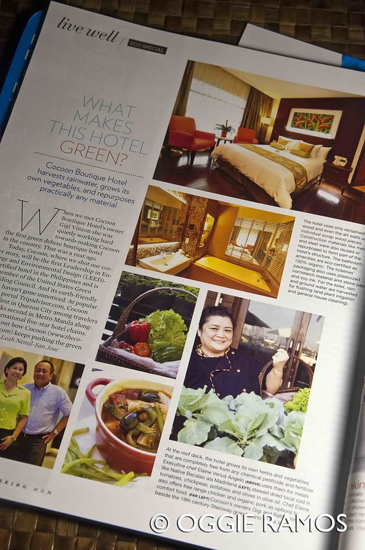 Lagal[og] Working Mom Magazine - Cocoon Hotel Feature