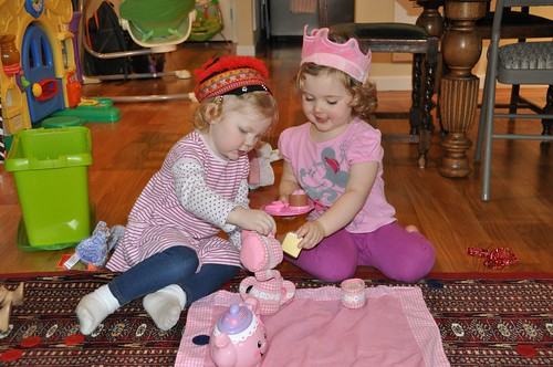 Tea Party with Juniper