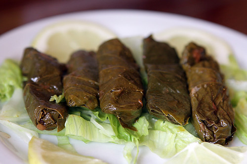 stuffed grape leaves