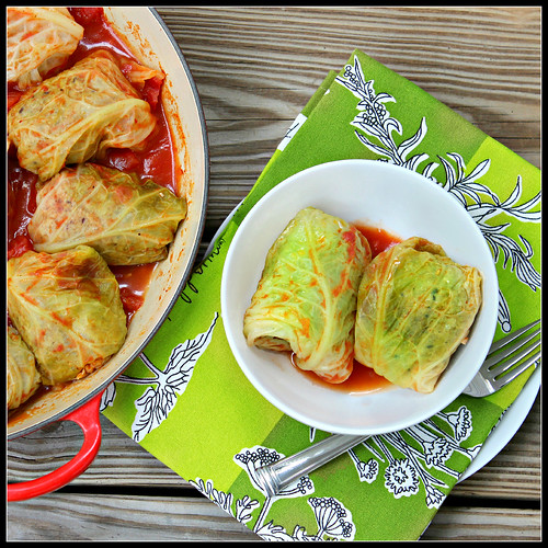 Italian stuffed cabbage