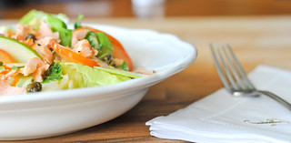 Salmon & Green apple Salad