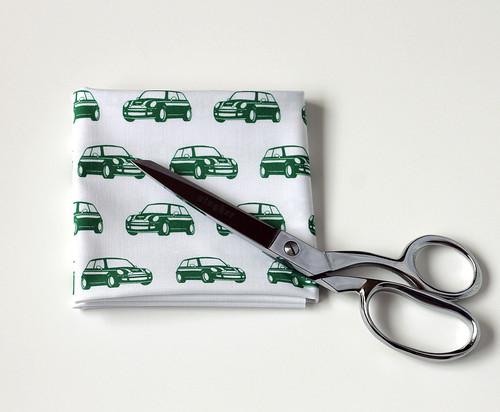 MINI Cooper fabric print