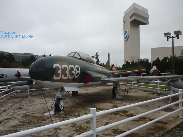 室外飛機公園 T-33梯烏式教練機