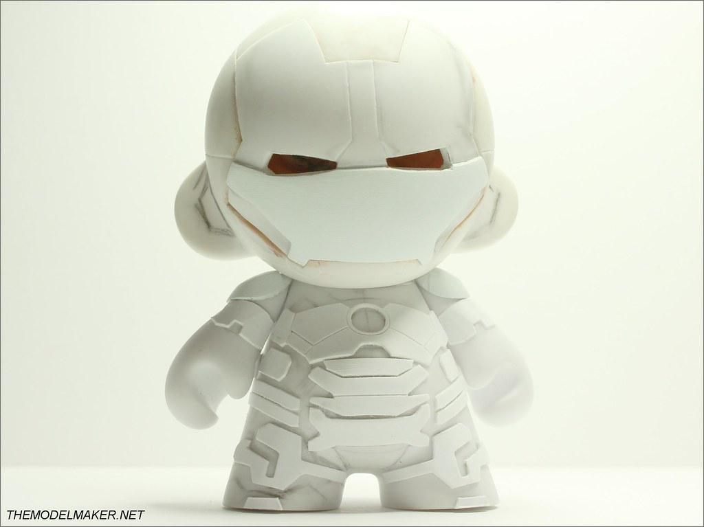 Iron Man Mark 42 munny WIP