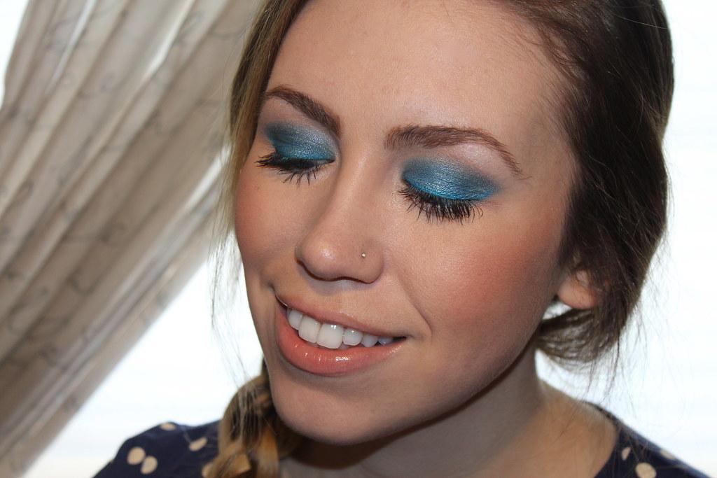 Living After Midnite: mark. Makeup Monday: Wild Blue