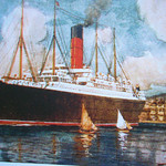 RMS Carpathia color.