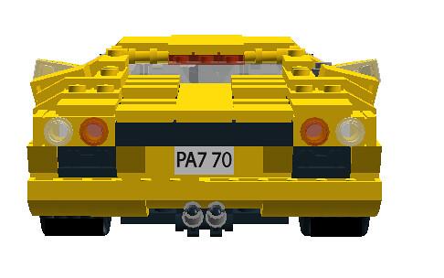 Lamborghini Diablo VT 6.0 rear