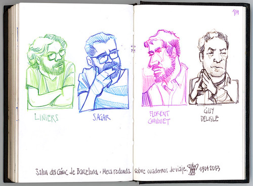 39th Sketchcrawl & 31th Salón del Cómic de Barcelona #4