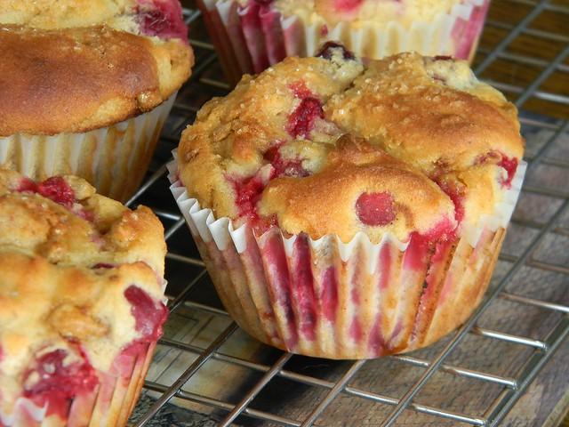 Gluten Free Cranberry - Citrus Muffins