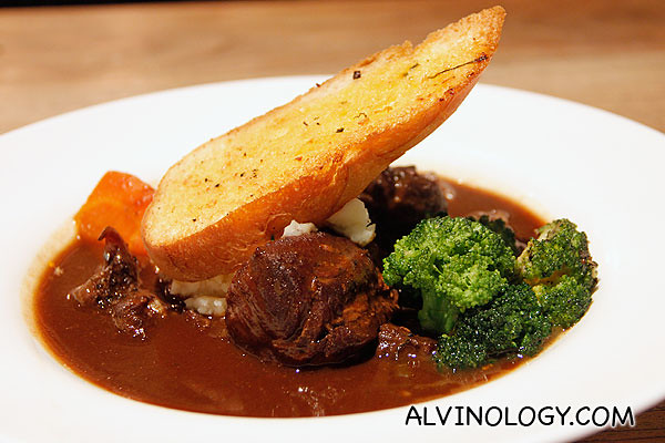 Beef stew at Canopy