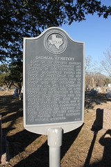 Photo of Oatmeal Cemetery, Oatmeal, TX, Mary Smith, and Fanny Smith black plaque