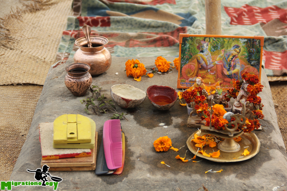 Shrine in Varanasi
