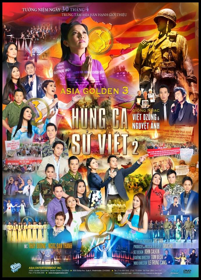 GOLDEN ASIA DVD 3: Hùng Ca Sử Việt2