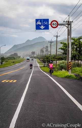 Cycling Hualen to Taidong