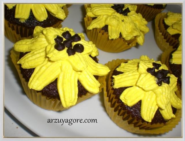 ayçiçeği muffin