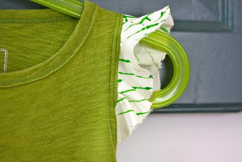improv sewing tshirt dress