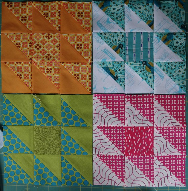 Nicky's April blocks