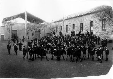 Colegio de Huérfanos Cristinos © Fondo Rodríguez. Archivo Histórico Provincial. JCCM. Signatura Album4-1570