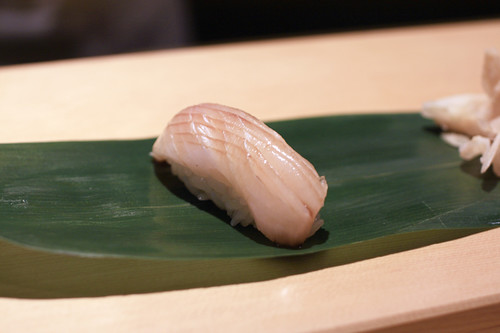 Black Yellowtail Nigiri