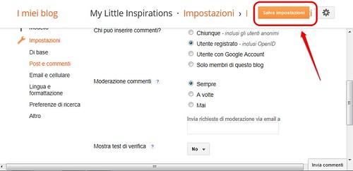 Corso Migliora il tuo Blog – Come togliere i captcha, Guest post di Emanuela @ My Little Inspirations, Corso Migliora il tuo Blog – Come togliere i captcha