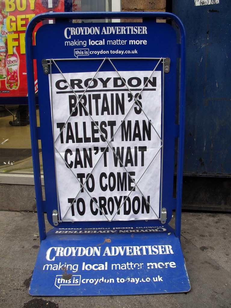 tube set to come to croydon essay