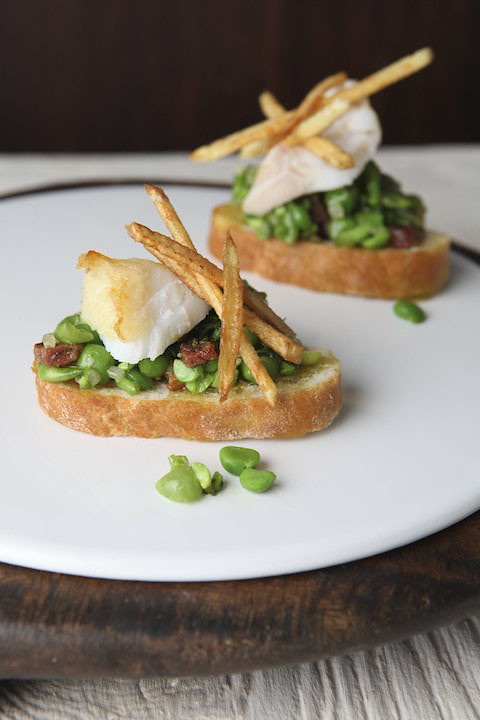 Fish and Chip Tostados