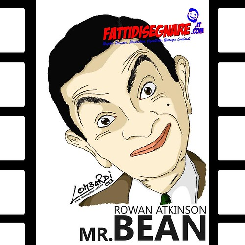 Mr.Bean Rowan Atkinson by Giuseppe Lombardi