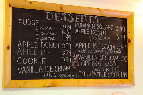 apple orchard desserts