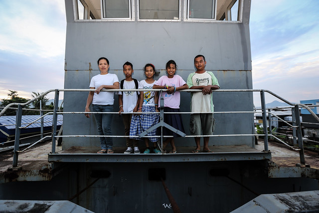 UNHCR News Story: Typhoon Haiyan Anniversary: From ship to shore, a story of survival