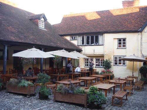 The King's Head's Courtyard, Aylesbury
