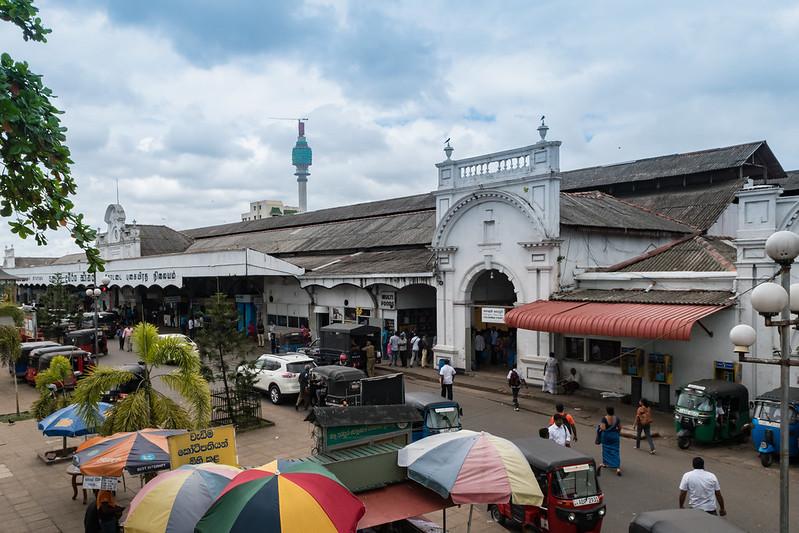 Hauptbahnhof Fort Sri Lanka