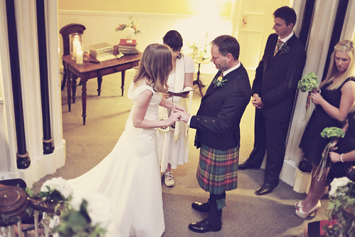 Rob & Helen's intimate ceremony at Hafton Castle